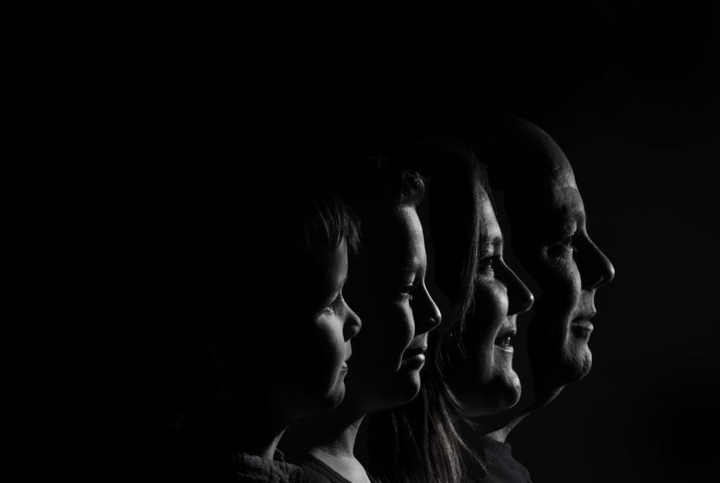 Familienfotos Gesicht in Gesicht Lowkey