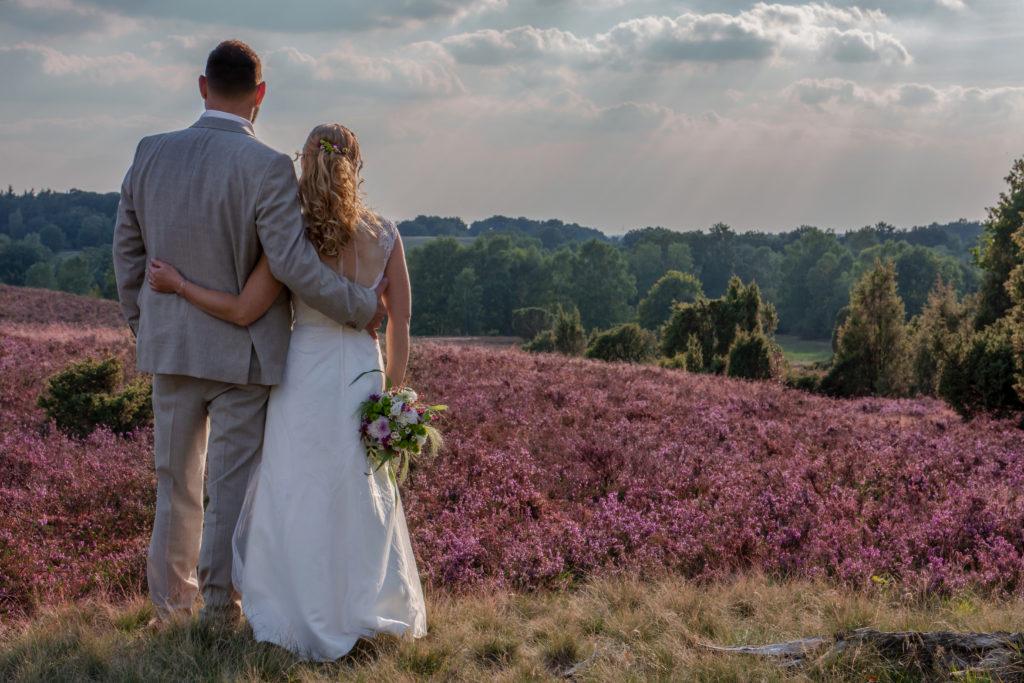 Hochzeitsfotografie: Hochzeit in der Lüneburger Heide